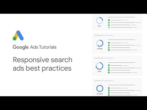 Google Ads Tutorials: Responsive search ads best practices