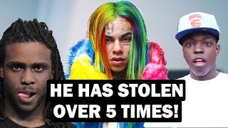 Every Time 6ix9ine Has Stolen From Artists (Chief Keef, Bobby Shmurda + MORE)