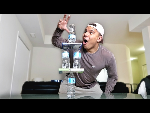 Thumbnail: IMPOSSIBLE WATER BOTTLE FLIP TRICK SHOTS!! *RECORD BREAKING*