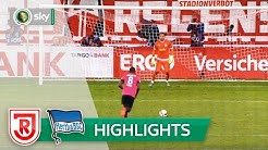 SSV Jahn Regensburg - Hertha BSC 4:6 i.E.   Highlights DFB-Pokal 2016/17 - 1. Runde