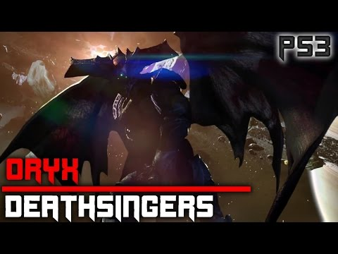 Destiny PS3 Taken King: King's Fall Raid - Deathsingers & Oryx Boss Battle