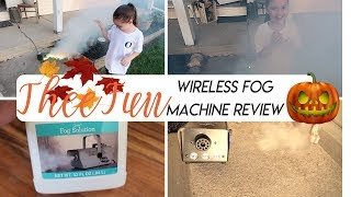 TheeFun Wireless Fog Machine Honest Review | Great for Halloween and Parties