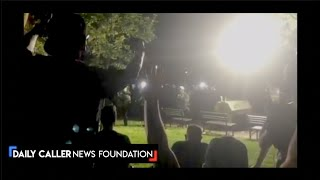 Second Night Of Protests At The White HouseStarts With Bottles Being Thrown At Secret Service