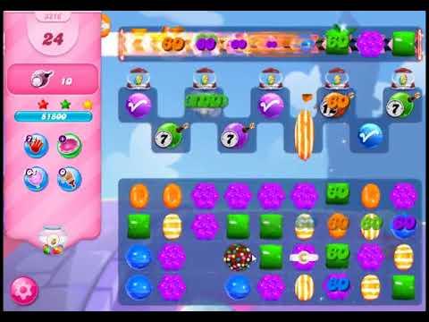 Candy Crush Saga Level 3216 - NO BOOSTERS