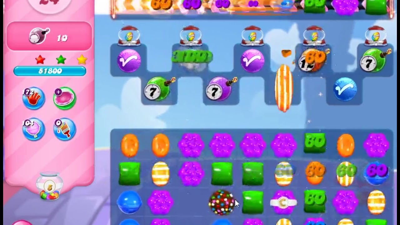 Download Candy Crush Saga Level 3216 - NO BOOSTERS