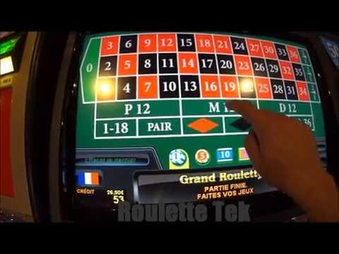 Strategy on Roulette casino machine, dozen and Red & Black colors