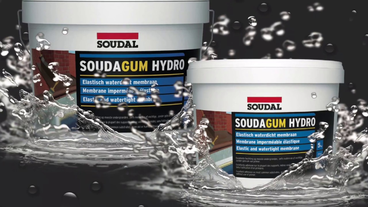 Soudal Soudagum Hydro - SMX Polymer Waterproofing Membrane