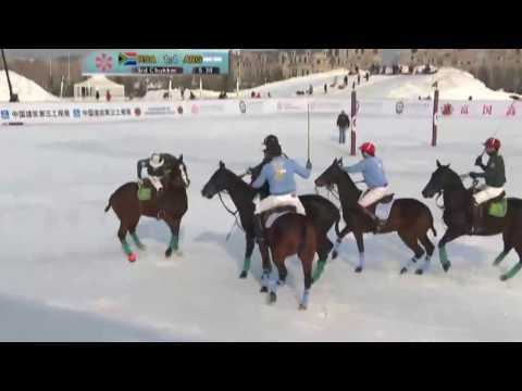 Fortune Heights Snow Polo 2013 - South Africa vs Argentina