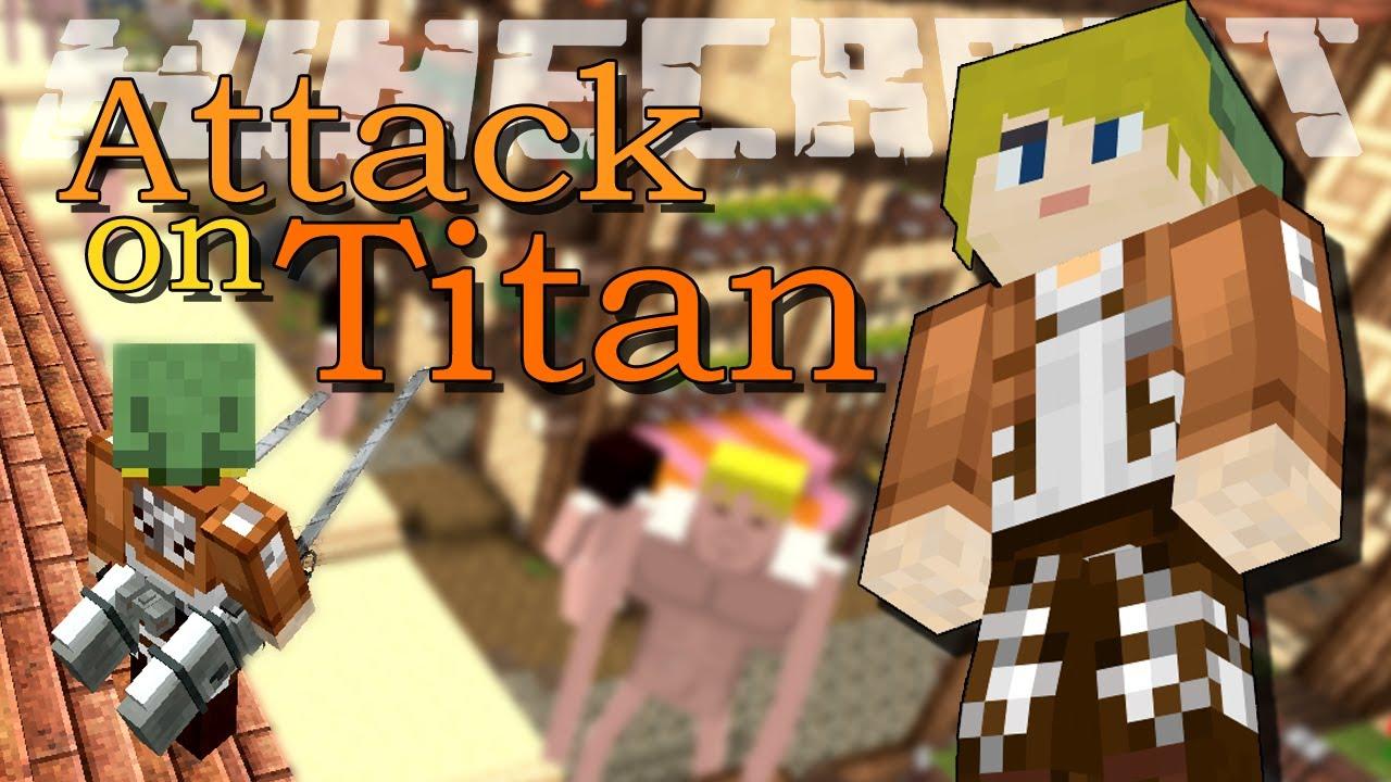 мод на атаку титанов в майнкрафт 0.14.1 #7
