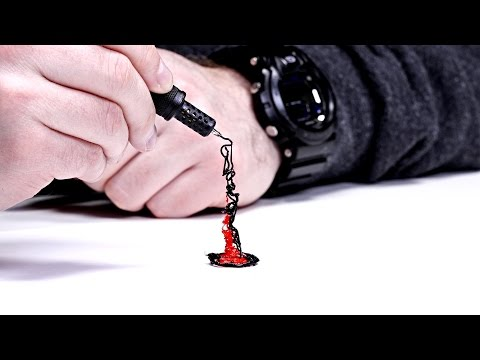 World's Smallest 3D Printing Pen