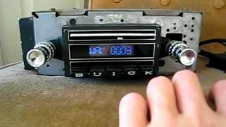 1963 Buick Riviera Radio Converted to Digital by Phoenix Audio NZ
