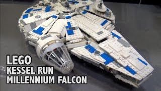 Inside the LEGO Kessel Run Millennium Falcon | New York Toy Fair 2018