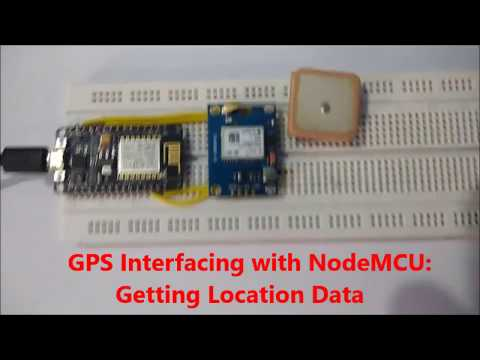 GPS Interfacing with NodeMCU ESP12: Getting Location Data