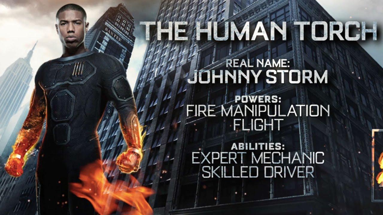 Michael B. Jordan: Why I'm Torching the Color Line | EW.com |Fantastic Four 2015 Human Torch