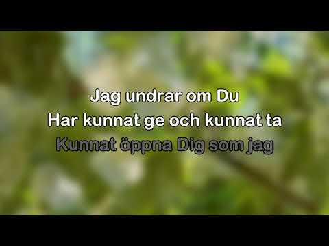 Patrik Isaksson - Hos dig är jag underbar (karaoke - lyrics)