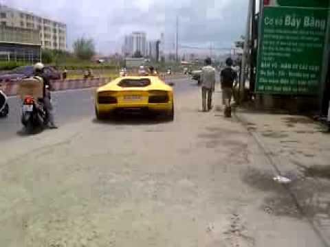 Lamborghini Aventador LP700-4 in Vietnam