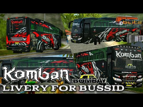 Komban Bombay Skin For Skyliner Mod Bussid Youtube