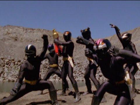Power Rangers vs Clone Shadow Rangers Battle   Power Rangers Wild Force