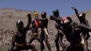 Power Rangers vs Clone Shadow Rangers Battle | Power Rangers Wild Force