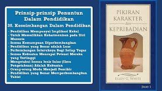 PIKIRAN, KARAKTER DAN KEPRIBADIAN: 38. Keseimbangan Dalam Pendidikan bag.1 - Pdt. Tjandra Paulus