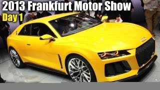 2013 Frankfurt Motor Show Day 1: Mercedes, Audi, Porsche, & A Lot More!