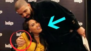 "Drake & Ayesha Curry ""Flirting"" Claim NOT True (Surprises At Her Book Signing)"