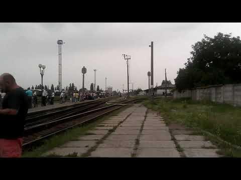 Поезд 61/62 Николаев-Москва на станции Черкассы
