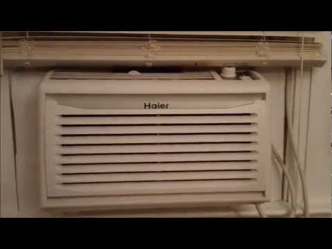 Haier Window Air Conditioner - YouTube on