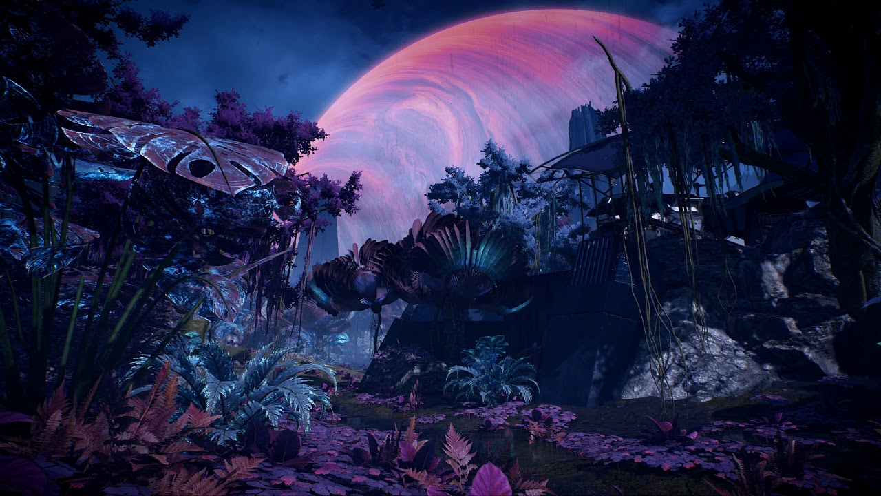 The Forest Of Planet Havarl Me Andromeda Live Wallpaper