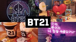 BTS (방탄소년단) IN SEOUL [BT21 FLAGSHIP STORE/BIGHIT ENT/BTS RUN CAFE]