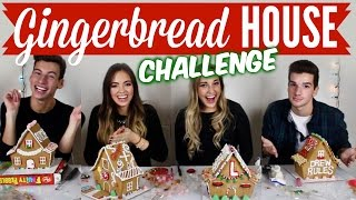 Gingerbread House CHALLENGE!! ft. Jack, Lexie & Drew Thumbnail