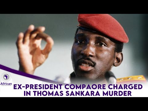 Ex-President Of Burkina Faso Charged In Thomas Sankara Murd£r