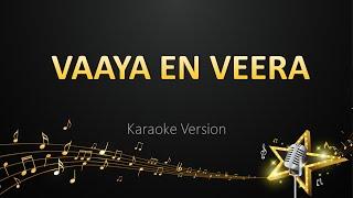 Vaaya En Veera - Leon James  (Karaoke Version) Thumb