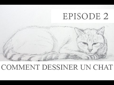 comment dessiner un chat couch tutoriel episode2 youtube. Black Bedroom Furniture Sets. Home Design Ideas