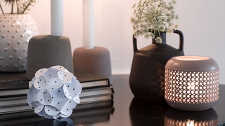 DIY: Decorative Paper ball by Søstrene Grene