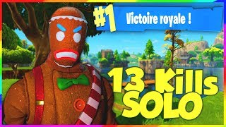 Gronie Le Gentil Cookie ! TOP 1 SOLO sur Fortnite: Battle Royale