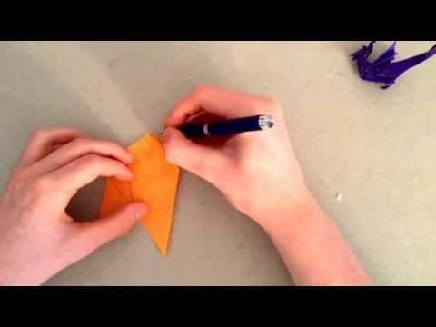 Origami Tutorial - How To Fold A Wyvern Pt. 1 (John Montroll)