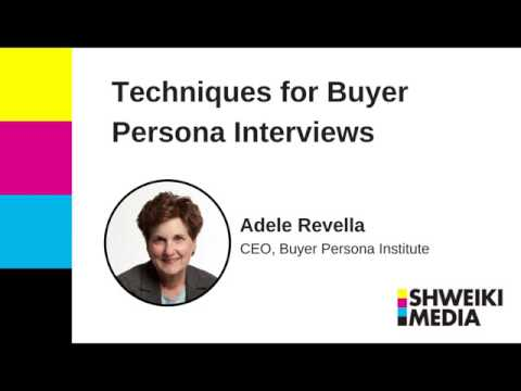 Helpful Techniques for Buyer Persona Interviews