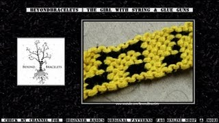 ► Friendship Bracelet Tutorial - Intermediate - Music Notes