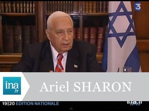Interview Ariel Sharon en juillet 2005 - Archive INA