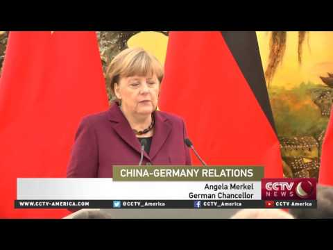 President Xi met with German Chanceller Angela Merkel in Beijing