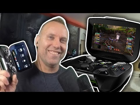 WOW ON MOBILE? - Swifty Playing WoW PvP On NVIDIA Shield Portable Controller