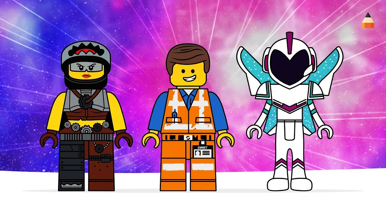 920 Coloring Book Lego Movie Best HD