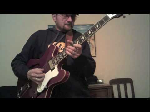 Marco Limido. play Westside Blues with Epiphone Riviera