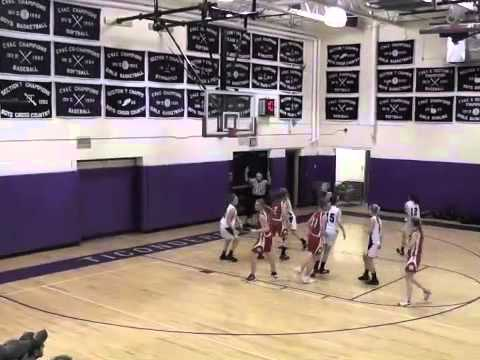 Ticonderoga - Saranac Lake Varsity Girls  12-20-12