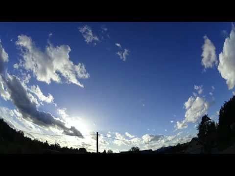 Nibiru / Planet x watch. Weather time lapse, Latvia 30.09.2016
