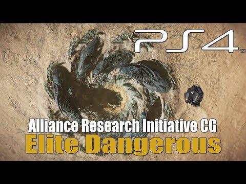 Elite Dangerous - CG 10/8 - Alliance Research Initiative - Thargoid Surface Sites