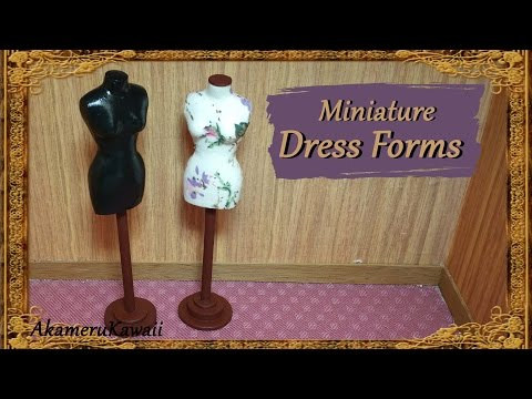 miniature-doll-dress-forms---polymer-clay/fabric-tutorial