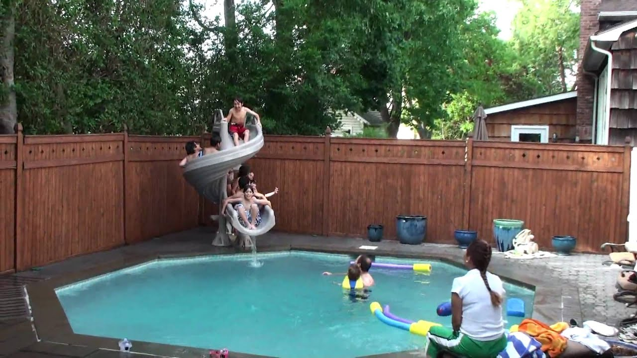 Pool Party at Home - YouTube