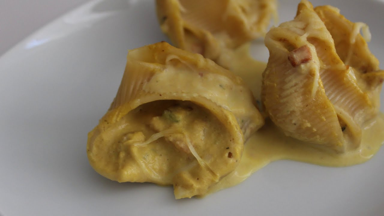 Pasta lumaconi rellena, galets o codos | La receta de cocina que estabas buscando ¡Una delicia!